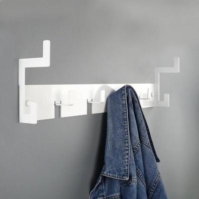 The Mayfair Metal Coat Rack - White