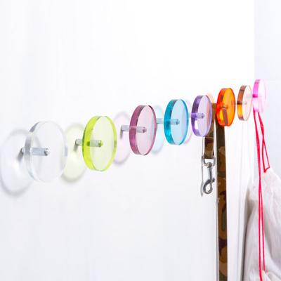 Block Coat Hook in 7 colours