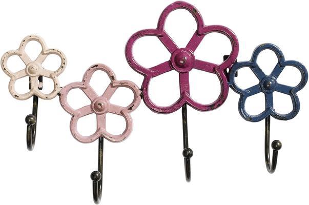 Four Flowers Coat Rack