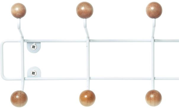 Present Time Saturnus Large Coat Rack - Natural Wood image 2