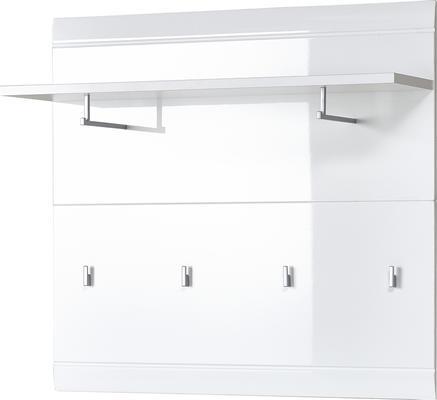 Adelle Coat Rack Panel - White