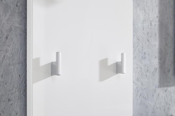 Adelle Coat Rack Panel - White image 5