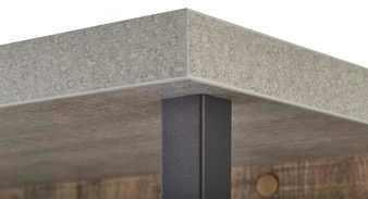 Manhattan Coat Rack - Grey and New Aged Oak Finish image 4