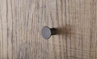 Manhattan Coat Rack - Grey and New Aged Oak Finish image 5