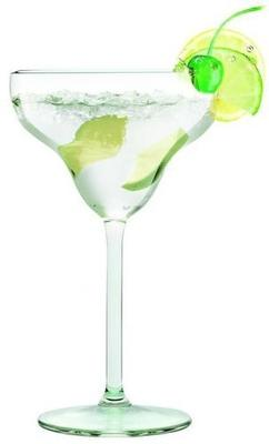 Set Of 6 Luxurious Margarita Glasses Diamond 300ml image 2