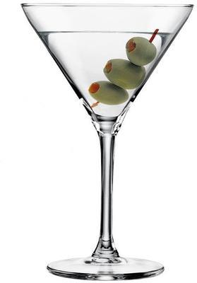 Set Of 6 Martini Cocktail Glasses 260ml image 2