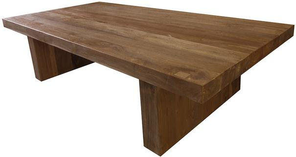 The Semaya solid teak Coffee Table image 2