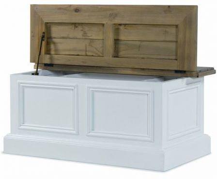 French Country Storage Coffee Table