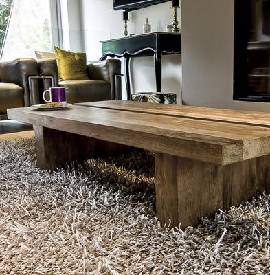 Rinjani Reclaimed Wood Coffee Table image 2