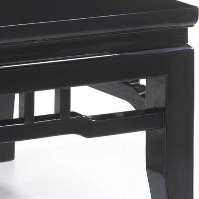 Kang Style Coffee Table, Black Lacquer image 4