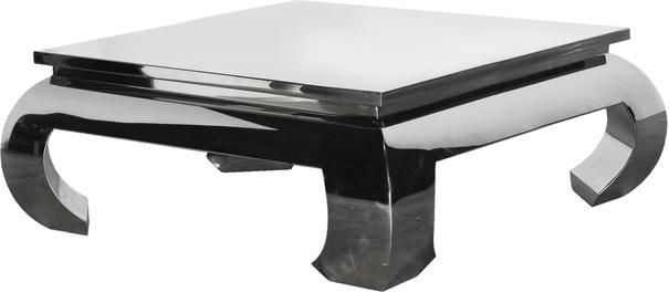Chunky Metallic Coffee Table (Rectangular) image 6