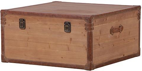 Wooden Trunk Coffee Table image 2