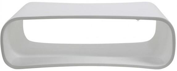 Hangai Quirky Coffee Table White High Gloss Fibre Glass