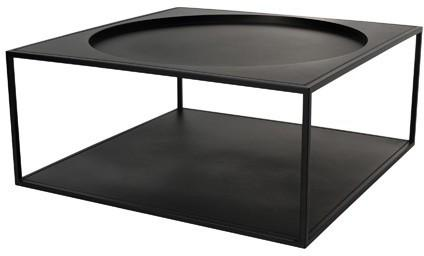 Square Steel Coffee Table image 2