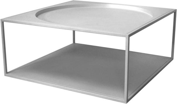Square Steel Coffee Table image 6