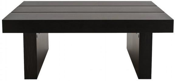 TemaHome Akita Square Oriental Coffee Table - Dark Wenge Finish