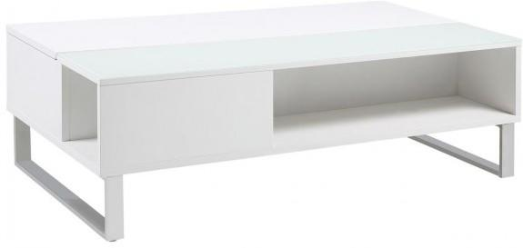 Azalea Storage Coffee Table Oak or White Gloss image 3