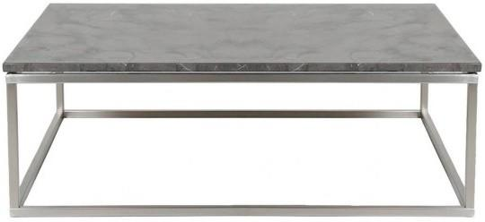 Bran Coffee Table Marble Top and Nickel Frame