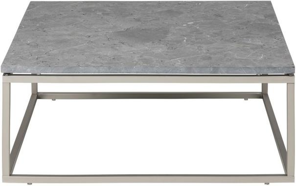 Bran Coffee Table Marble Top and Nickel Frame image 3