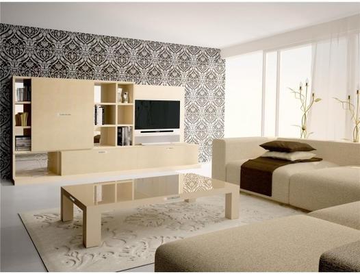 Diamond rectangular coffee table image 2