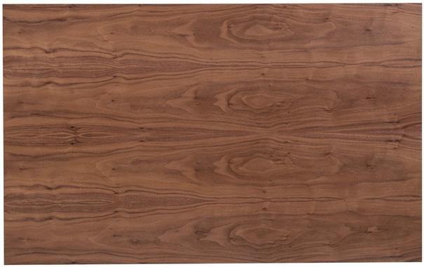 TemaHome Prairie Rectangular Coffee Table - Walnut with Metal Frame image 5