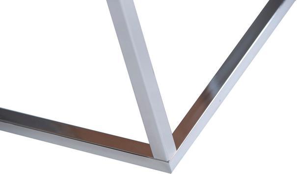 TemaHome Prairie Rectangular Coffee Table - Walnut with Metal Frame image 9