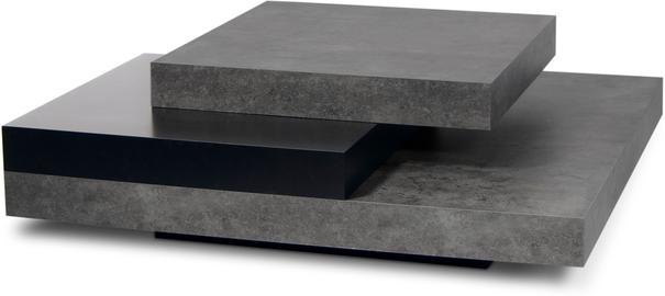 TemaHome Slate Coffee Table 3 Level - Matt White, White and Oak or Concrete image 6