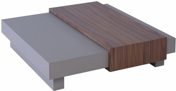 Marlow Contemporary Coffee Table - Matt Stone Lacquer image 2