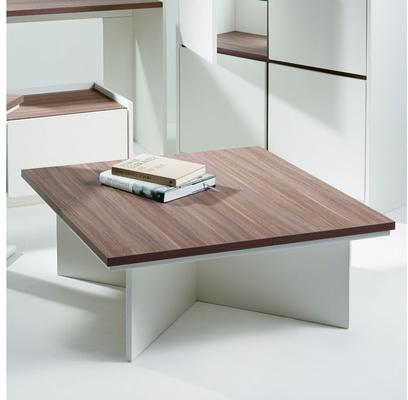 Essentials Square Coffee Table - Matt White Lacquer image 2