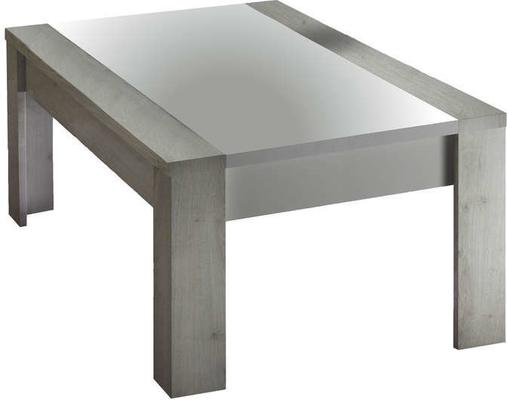 Mars  Coffee Table - White and Light Oak Finish image 2