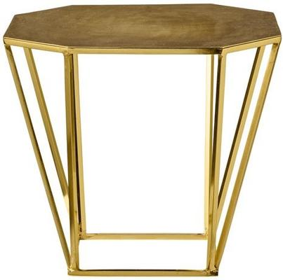 Bloomingville Table with Brushed Gold Finish image 2