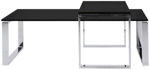 Katrine coffee table set (black)