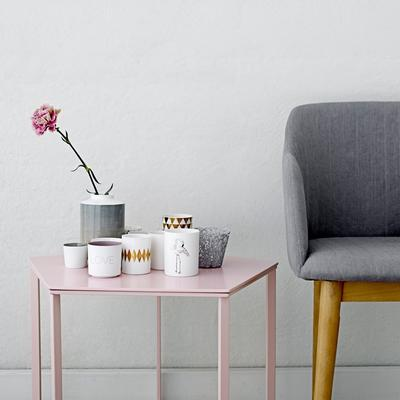 Bloomingville Pentagonal Coffee Table - Pink