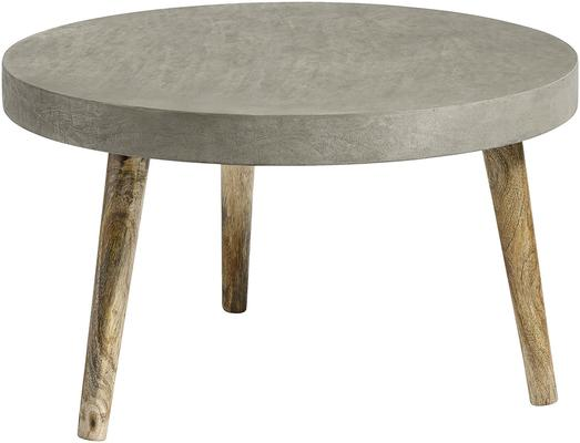 Three Leg Industrial Concrete Coffee Table