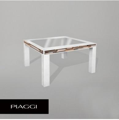Legson Table White Wood