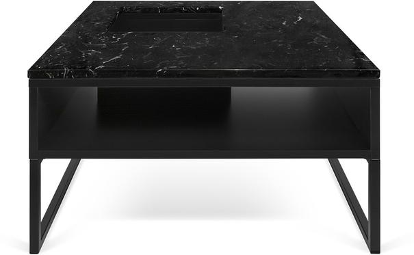 Sigma Coffee Table White or Black Marble