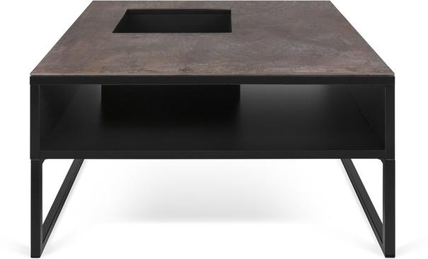 Sigma Coffee Table White or Black Marble image 2