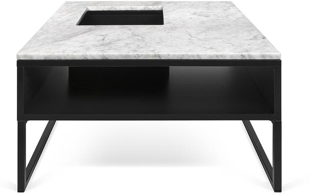 Sigma Coffee Table White or Black Marble image 3