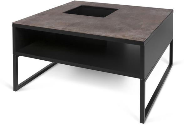 Sigma Coffee Table White or Black Marble image 5