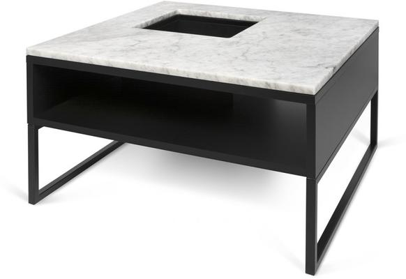 Sigma Coffee Table White or Black Marble image 6
