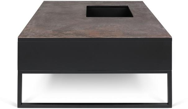 Sigma Coffee Table White or Black Marble image 8