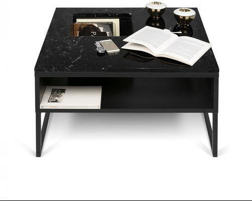 Sigma Coffee Table White or Black Marble image 10