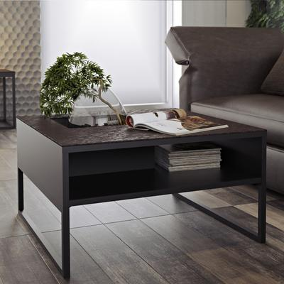 Sigma Coffee Table White or Black Marble image 12
