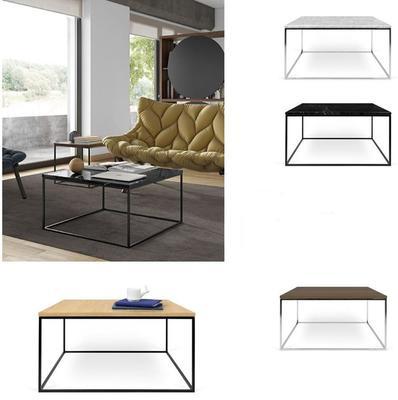 Gleam square coffee table image 11