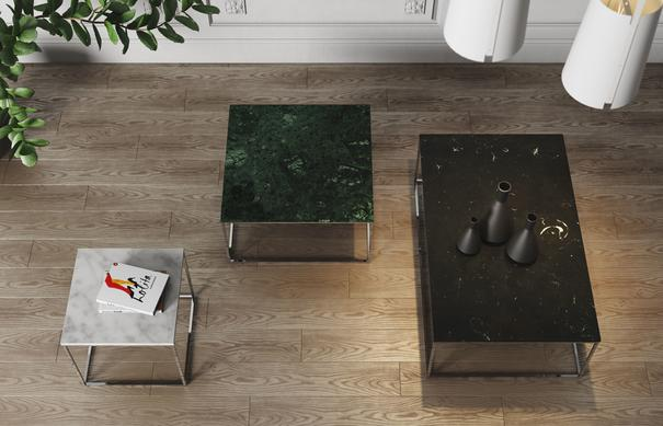 Gleam square coffee table image 17