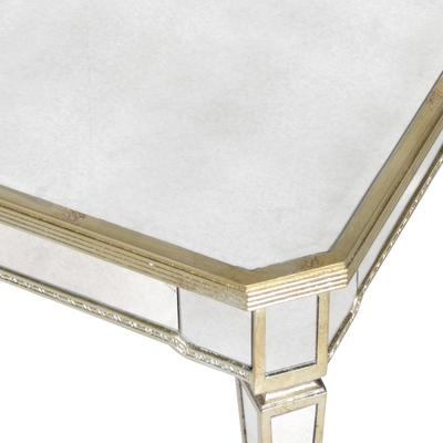 Venetian Antiqued Mirror Coffee Table image 3