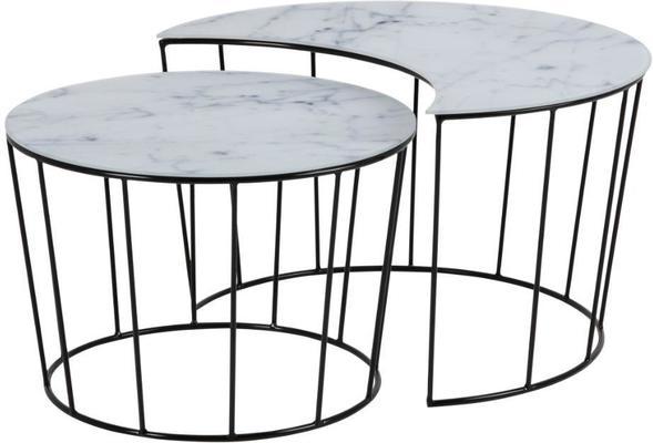 Sunmin coffee table set image 2