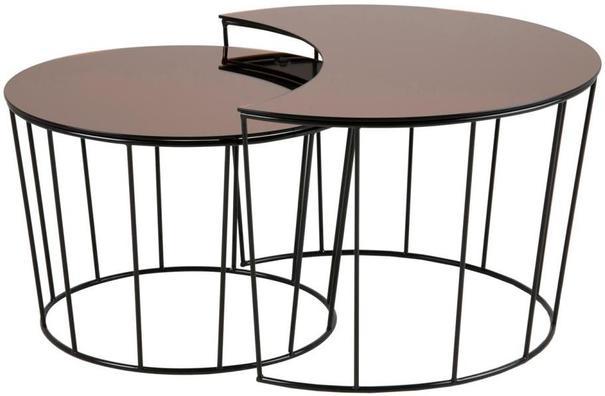 Sunmin coffee table set image 3