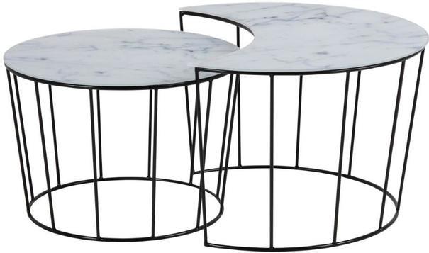 Sunmin coffee table set image 4
