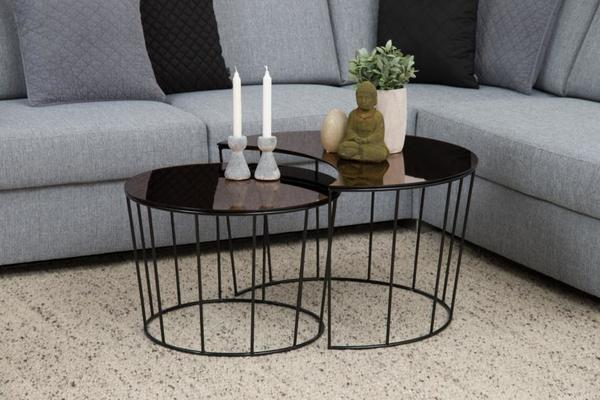Sunmin coffee table set image 5